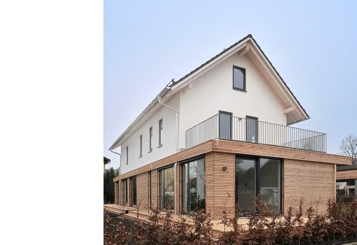 Questarchitekten Doppelhaus In Rosenheim